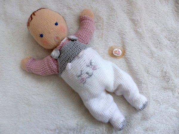"Babypuppe ""Georgia"", 35 cm Puppe, Häkelanleitung"