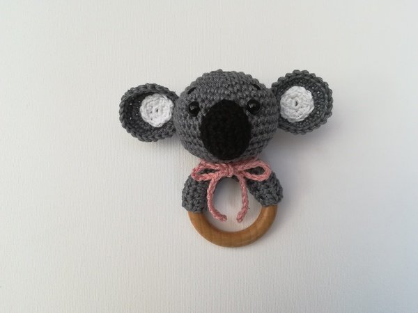 Koala Rattle - Crochet Pattern