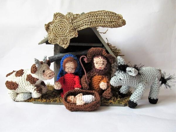 Krippenfiguren Häkeln Weihnachtsdeko