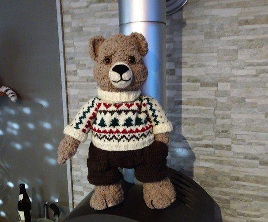 Bär Häkeln 50 Cm Groß Xxl Teddy Diy