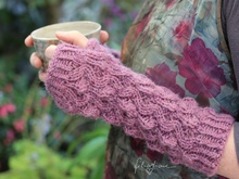 "Fingerless Gloves ""Kjellrun"", knitting pattern"