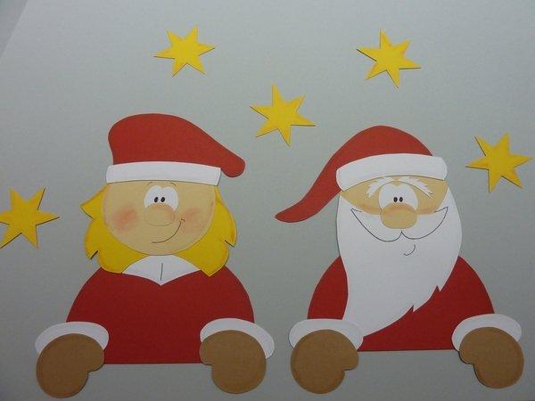 Bastelanleitung - Weihnachtsmann & Co.
