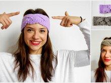 Stirnbänder Und Haarbänder Häkeln Häkelanleitung Stirnband