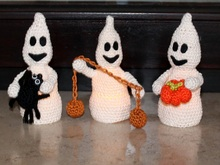 glowing ghosts crochet pattern