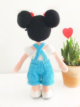 Puppe Häkeln Mädchen Puppe 36 38 Cm