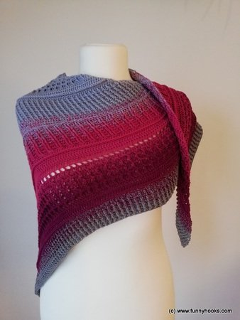 lovely winter shawl
