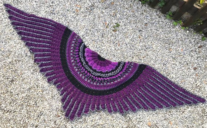 "The ""Midnight Angel"" Shawl"
