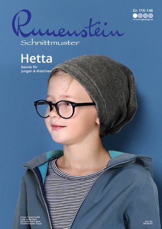 Hetta Beanie 116-146 Schnittmuster & Nähanleitung