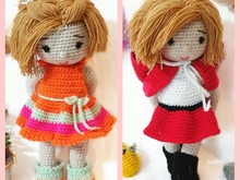 Haakpatroon van pols Sarah x2!!! PDF english- deutsch- dutch ternuraamigurumi
