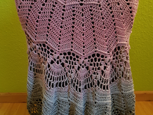 "Crochet Pattern ""shawl - Haldisa"" UK Term"