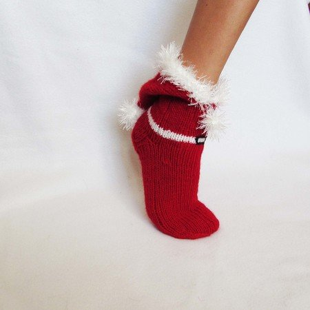 Socks for Santa's Helper, Christmas gift