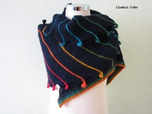 Knitting Pattern Shawl Rainbowdroplet