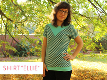 "Shirt ""Ellie"" Gr. 34 - 48"