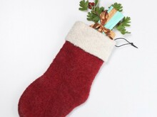 Felted Christmas Stocking