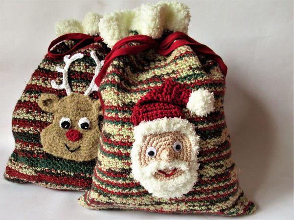 Häkelanleitung Geschenksäckchen Für Nikolaus Oder Weihnachten