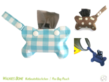 Walkies Bone Poo Bag Pouch Sewing Pattern