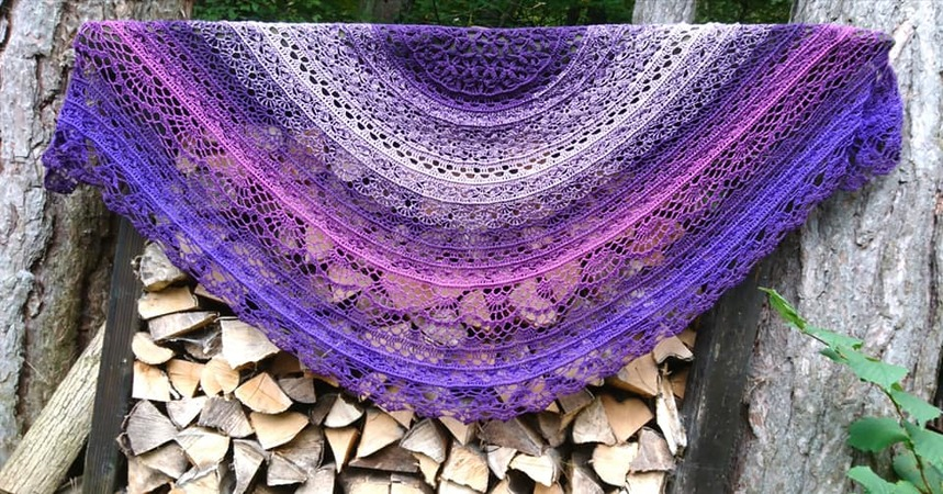 Flower of life Shawl