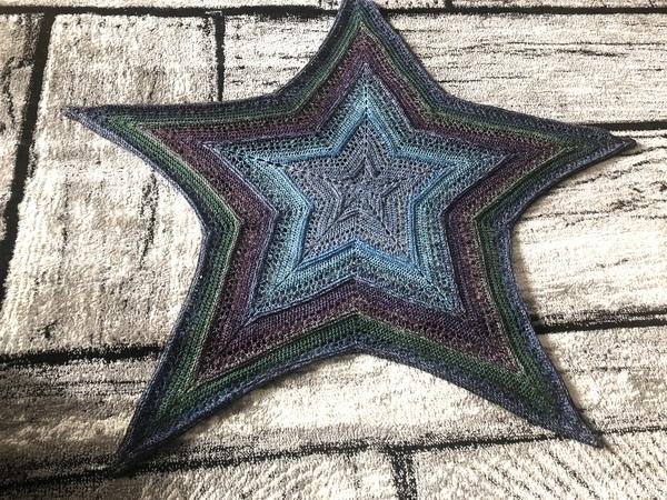 Tuch Häkeln Sternförmige Decke Häkeln