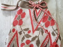 Haakpatroon Mochila bag, tapestry crochet,