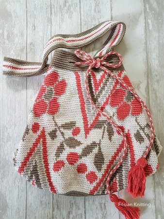 Pattern mochila bag tapestry