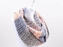 Lollipop Melange Cowl