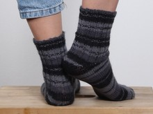 Socks with hourglass heel - Ladies