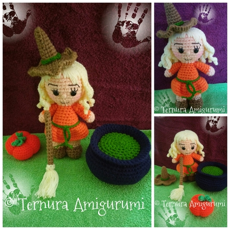 Cute Lilly Doll Goes to Bed - Amigurumi Crochet Doll Pattern ... | 450x450