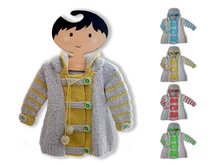 Joyful Hoodie Coat for 0 - 7 year olds