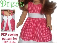 PDF Sewing  Pattern - Party time Dress