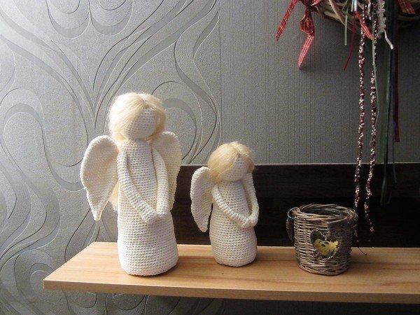 Engel Häkeln 2 Größen Weihnachtsdeko