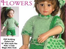 Spring Flowers for 18'' Slim dolls