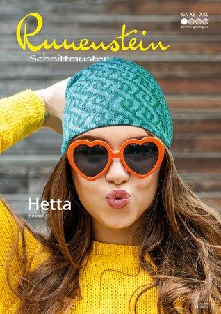 Hetta Beanie XS-XXL Schnittmuster & Nähanleitung