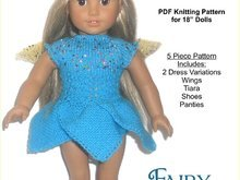 PDF Knitting Pattern - Fairy Princess