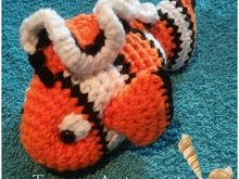 Haakpatroon van Nemo, clown vis PDF dutch ternura amigurumi