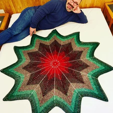 Deckchen Häkeln Sternförmig Diy Pdf