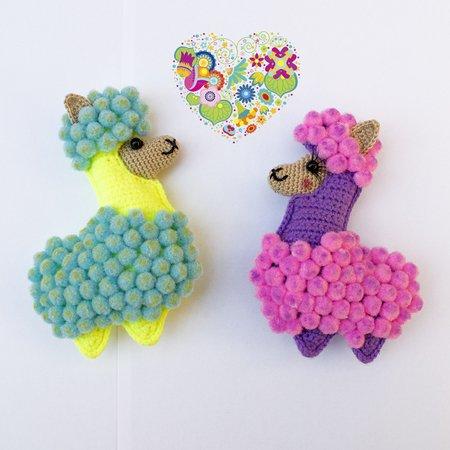 Llama Crochet Patterns – Amigurumi Tips - A More Crafty Life | 450x450