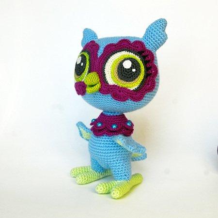 Crochet Snowy Baby Owl   I Heart Gantsilyo   450x450