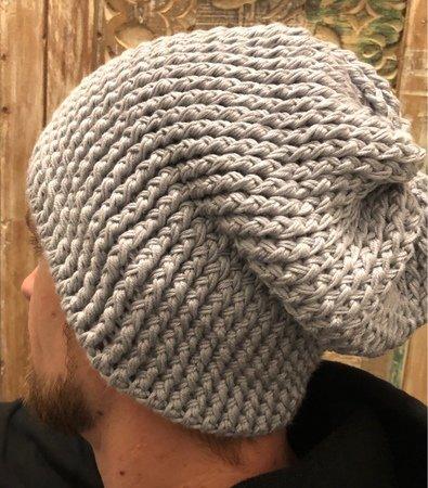 Beanie häkeln // Männer-Mütze häkeln