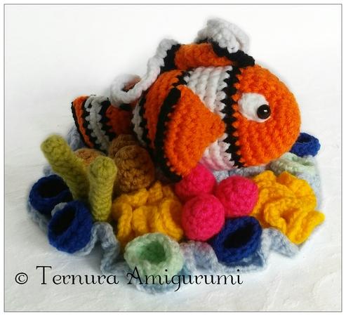 Crochet Goldfish Teether Amigurumi Free Patterns - DIY Magazine | 450x493
