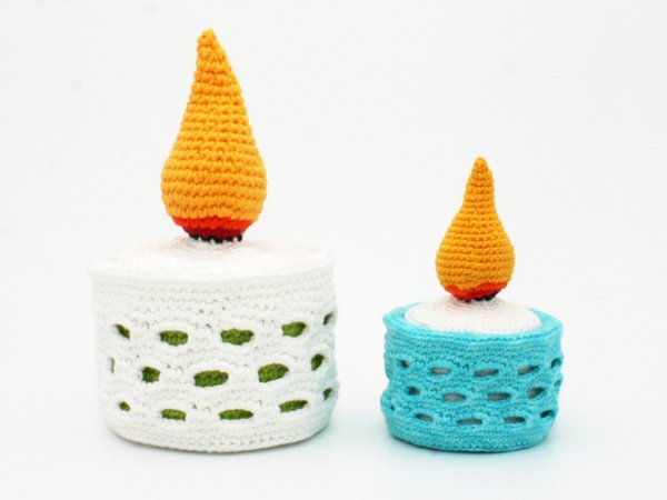 Fill-Up Candle - Crochet Pattern