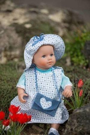 Schnittmuster Sparpaket 38 Modelle für 4 verschiedene Puppengrößen