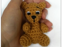 Crochet pattern for little bear PDF ternura amigurumi english