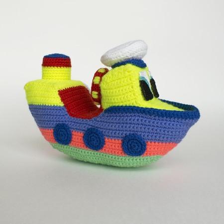 Crochet Boat Amigurumi Free Pattern - DIY Magazine | 450x450