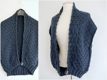 Strickanleitung - Strickjacke - Cardigan DIAMOND - No.207