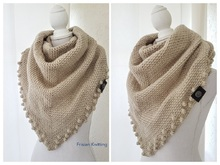 Crochet Pattern Bubble Shawl //