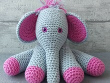 Crochet Pattern Elephant