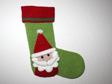 Santa christmas stocking english version