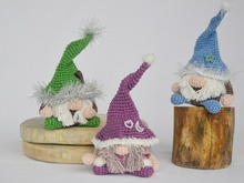 "Crochet Pattern Mini-Gnome ""Alfons"""