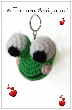 Sheep Keychain Free Crochet Patterns | 450x294