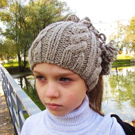 Hat Scarf Knitting Pattern Size For Toddler Child Adult
